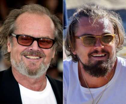 Leonardo DiCaprio Is Becoming Jack Nicholson