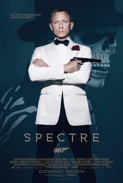 Latest James Bond 007: Spectre #Poster