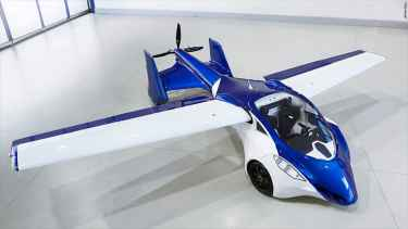 This flying car, AeroMobil 3.0, will be ready for take off in 2017