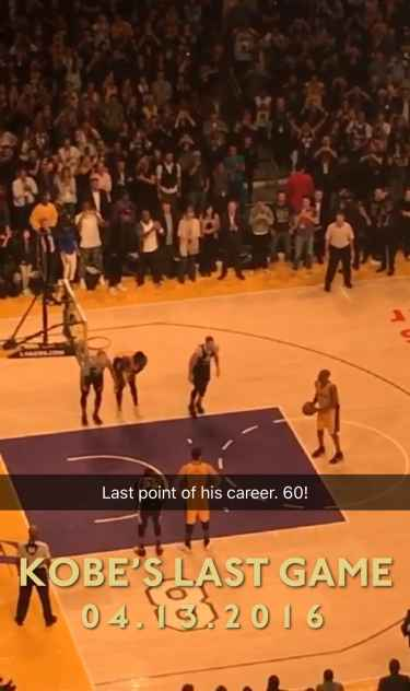 Kobe Bryant Scored 60 Points On His Last Game, What a Great Ending For One Of The NBA's Greats!