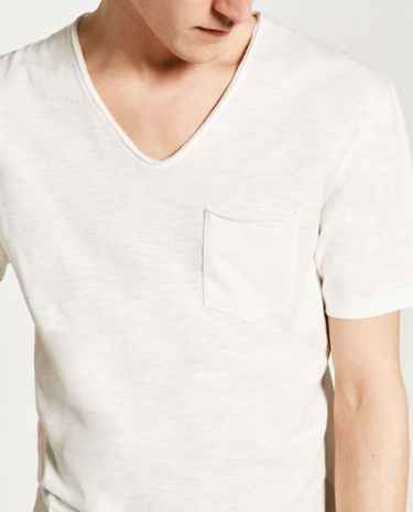 #BestTees: Basic V-Neck Tees by #ZARA
