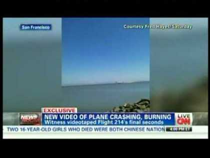 #News: Amateur video of the Boeing 777 Asiana Flight 214 crash at San Francisco airport