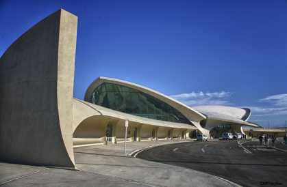 Eero Saarinen's TWA terminal at New York's JFK Airport