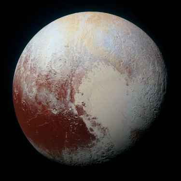 Image of Pluto in High Resolution