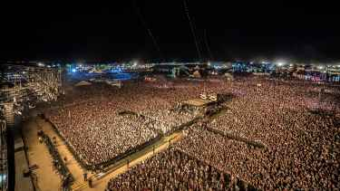 Aerial Drone Footage of #Coachella 2015 Shows How Huge This Music Festival Is