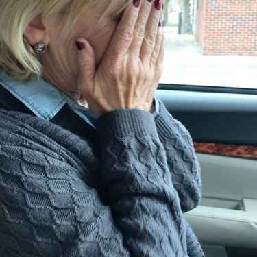 Mom Breaks Down In Tears After Voting For Hillary Clinton
