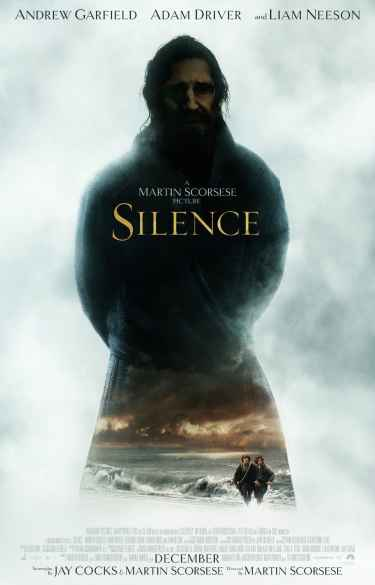 "Martin Scorsese's ""Silence"" movie #poster"