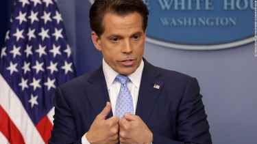 New White House communications director, Anthony Scaramucci, is not very good in lying