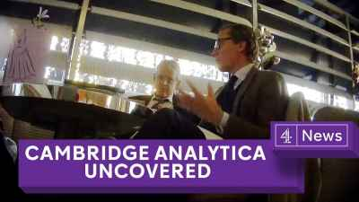 Cambridge Analytica Exposed: Secret filming reveals election tricks
