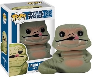 Star Wars Jabba the Hutt Bubble-head Figure