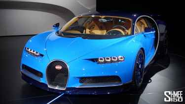 Watch The New Bugatti Chiron at Geneva 2016