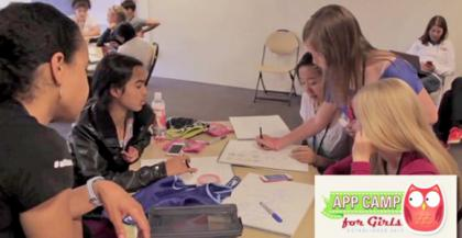 #Tech: App Summer Camp For Girls.. All About Making Apps