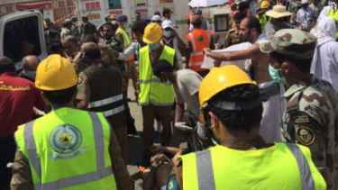 Stampede kills hundreds at Hajj pilgrimage near Mecca