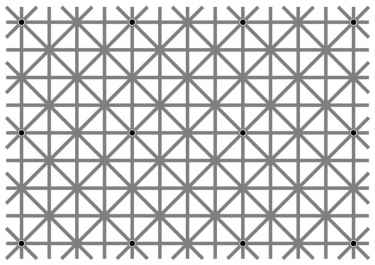 There are 12 dots on this picture... can you spot them all?