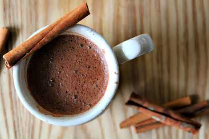 Winter Food #Recipe: #Chili and #Cinnamon #HotChocolate