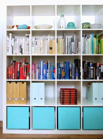 #DIY: #Ikea Expedit #Bookshelf Hack