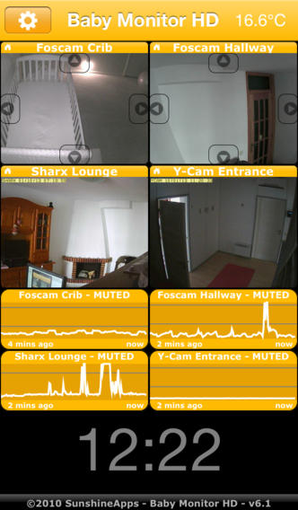 #Medical: Baby Monitor HD iPhone App