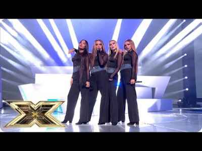 #LittleMix Performs Woman Like Me | Live Shows Week 2 | #TheXFactorUK