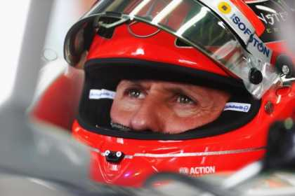 #F1 Racer Michael Schumacher loses 25% of his body weight after 83 days in coma