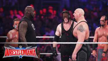 Shaq joins Battle Royal at WrestleMania 32!!!