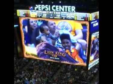 The Denver Nuggets' Lion King cam is brilliant!