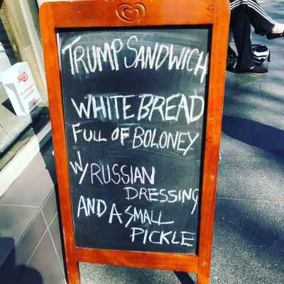 The Trump Sandwich