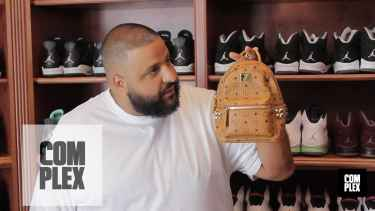 DJ Khaled Shows Off His Sneaker Collection