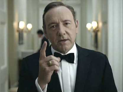 Kevin Spacey Talks Success Of 'House of Cards' On Netflix | #tech #tv #celeb