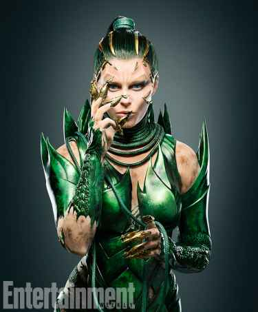 First Look at Elizabeth Banks as Rita Repulsa in the Upcoming Power Rangers Reboot