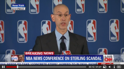 #NBA bans #Clippers owner Sterling for life