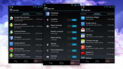#Android 4.3 Security Options To Control Individual App Permissions