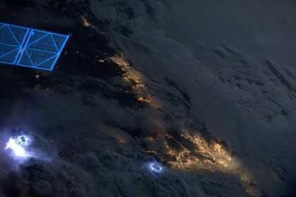 #Photography: Lightning Storms Photographed From #Space