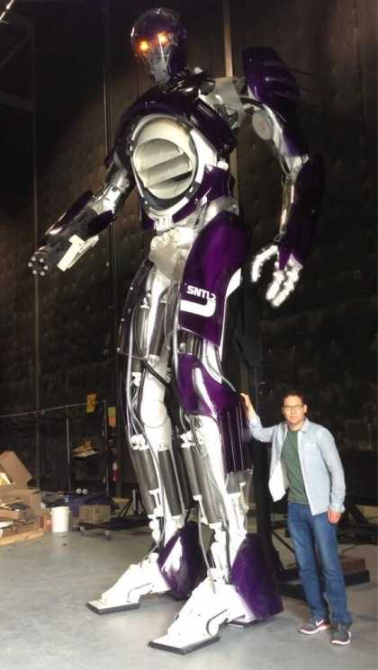 """#Movies: Sentinels From """"X-Men: Days of Future Past"""""""