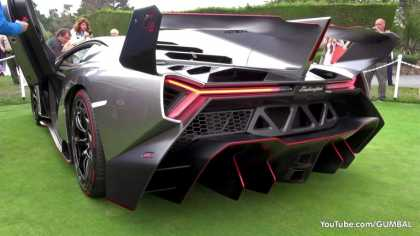 The Sound of $4.5 Million #Lamborghini Veneno
