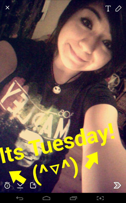 Happy Tuesday everybody! ?(^?^)?