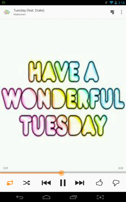Because it's tuesday! #happytuesday
