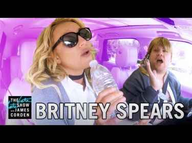 Britney Spears Carpool Karaoke with James Corden