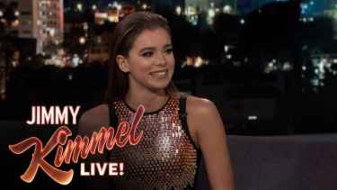 Hailee Steinfeld Revealed On Jimmy Kimmel How She Got A Record Deal By Accident
