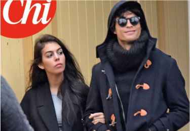 Cristiano Ronaldo on a date with Georgina Rodriguez in disguise