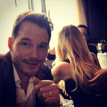 Chris Pratt pranked Jennifer Lawrence on his Instagram posts