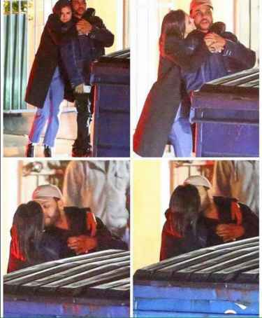 Selena Gomez and The Weeknd caught kissing!