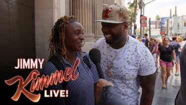 People Were Asked What They Think of 50 Cent While He Stands Behind Them