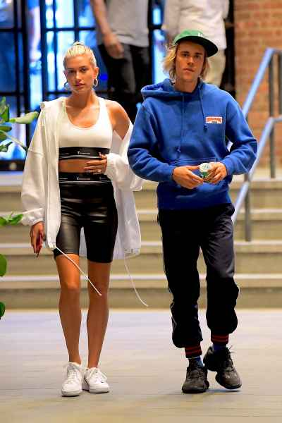 Newly Engaged Hailey Baldwin Flashes Her Engagement Ring