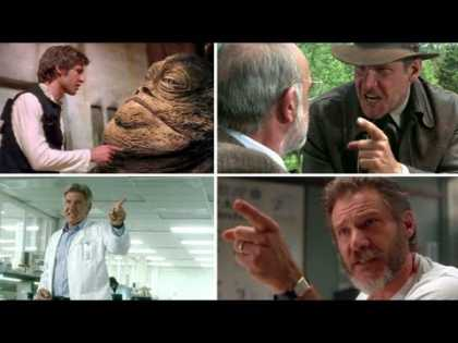 #Celeb: Harrison Ford Points At Stuff A Lot In Acting   #Funny