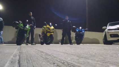 the CREW! #bikerboys #zx10r #cbr600f4i #zx14R