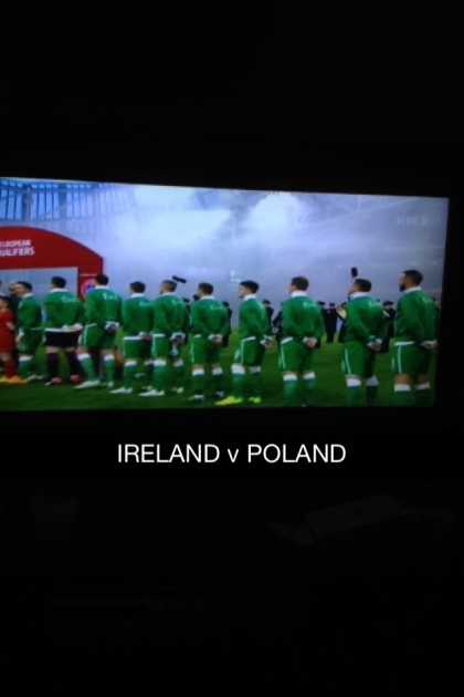 Time for the match, Let's go IRELAND 🍀 #Ireland v #Poland 💪 #BoysInGreen