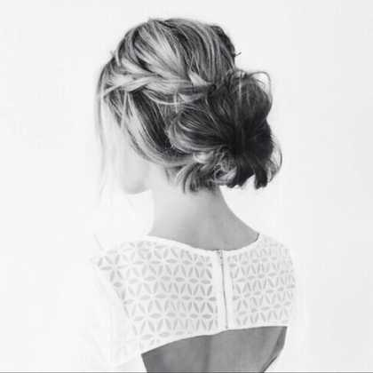 ❤️ this #hairstyle