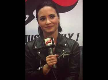 "Demi Lovato's favorite dish is ""a mug"""