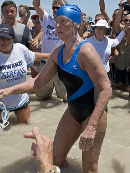 #Swimming: Diana Nyad to meet with skeptics about Cuba-to-Florida swim