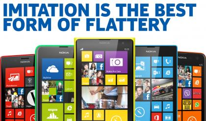 #Nokia just mocked the new #Apple #iPhone 5c